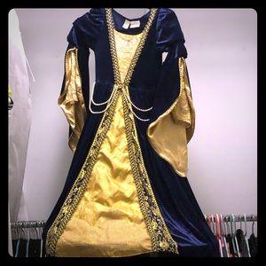 Cosplay Royal Enchanted dress child size 7/8